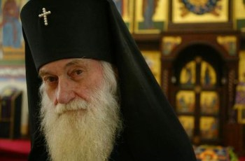 Re-interment of Archbishop Dmitri