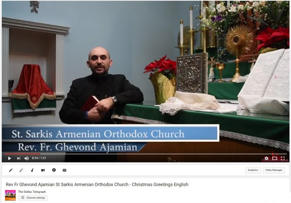 Rev. FrGhevond Ajamian, St. Sarkis Armenian Orthodox Church