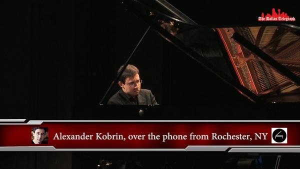 Александр Евгеньевич Кобрин; Alexander Kobrin speaks to The Dallas Telegraph on 2018 Cliburn Festival the Music of Russia.