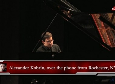 Александр Евгеньевич Кобрин; Alexander Kobrin speaks to The Dallas Telegraph on 2018 Cliburn Festival the Music of Russia.