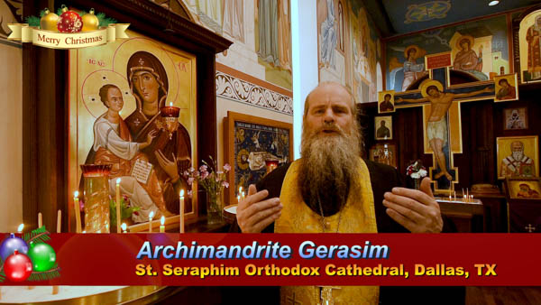 🎄 Abbot Gerasim of St Seraphim Orthodox Cathedral with Christmas 2019 Greeting 🎄 #RussianDallasChritmasGreeting #StSerphimDallas ##StSerphimDallas_DT #TheDallasTelegraph #RussianDallas #RussianTexas #РусскийДаллас #РусскийТехас #ПоехалиВТехас