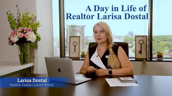 Русский риэлтор в Далласе Лариса Досталь - день в жизни