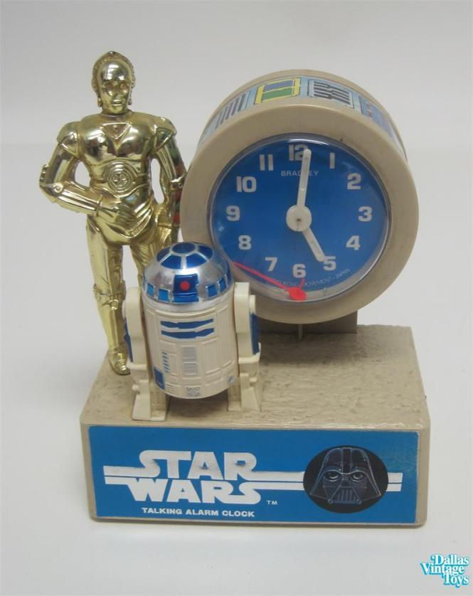 Bradley Star Wars Talking Alarm Clock