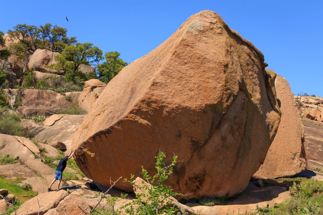 Enchanted Rock Texas - Fall Travel from Dallas