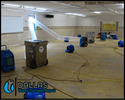 dallas water damage repair restoration commercial residential home office 64