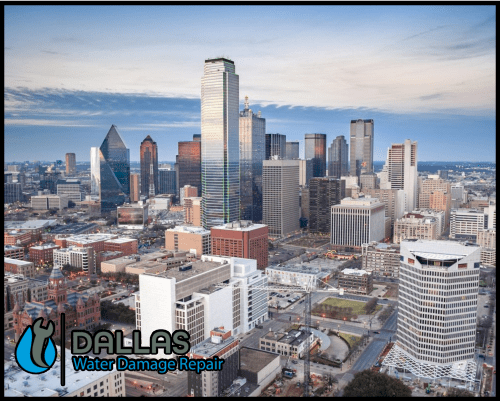 dallas water damage repair restoration commercial residential home office 70