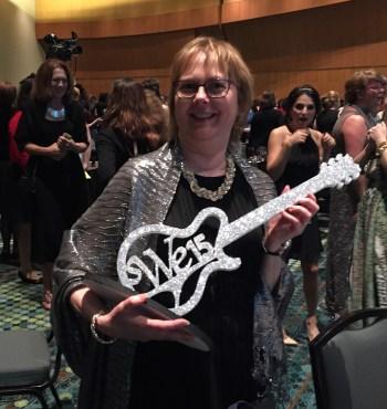 Dallas SWE President Barbara Read: Rockstar!