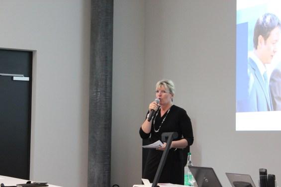 Digital Future Forum der FHNW. Moderation Prof. Martina Dalla Vecchia