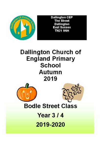 Bodle Street Class Brochure Autumn 2019