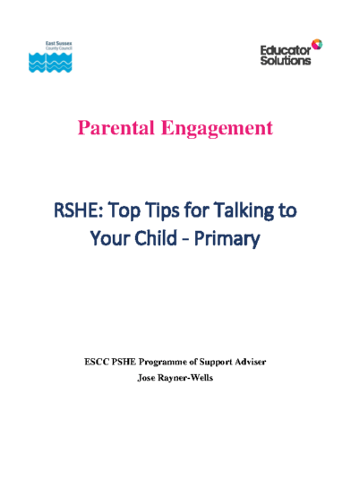 Top Tips for Talking to Your Child