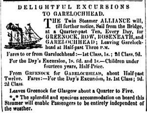 Alliance June 3, 1857