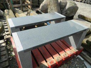 garden stone bench seat