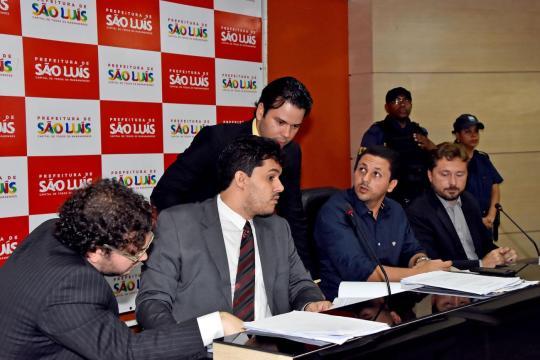 Relator da CPL comandou primeira sessão pública da licitação do sistema de transportes de São Luís no dia 12 de maio na Fiema