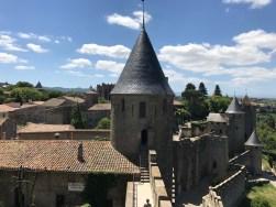Carcassonne dall'alto