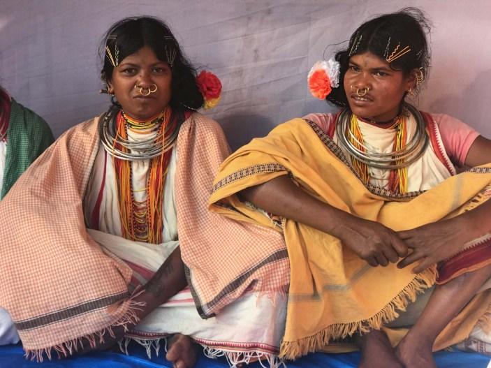 Young Dongria Kondh women