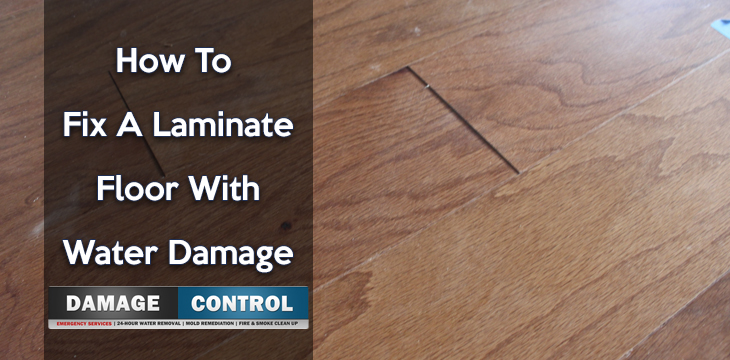How To Fix A Laminate Floor With Water Damage By Damage