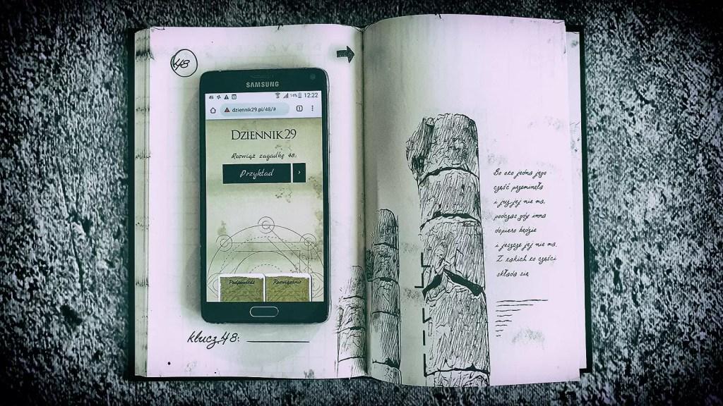 dziennik 29 interaktywna gra książkowa recenzja
