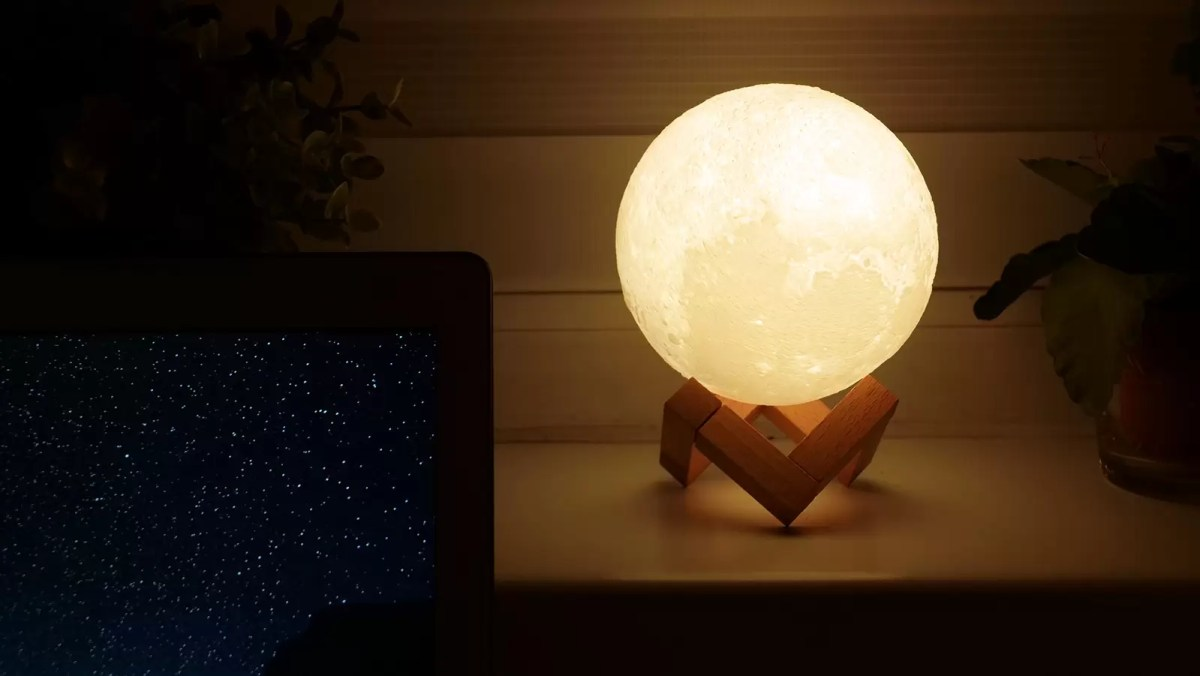 lampka księżyc