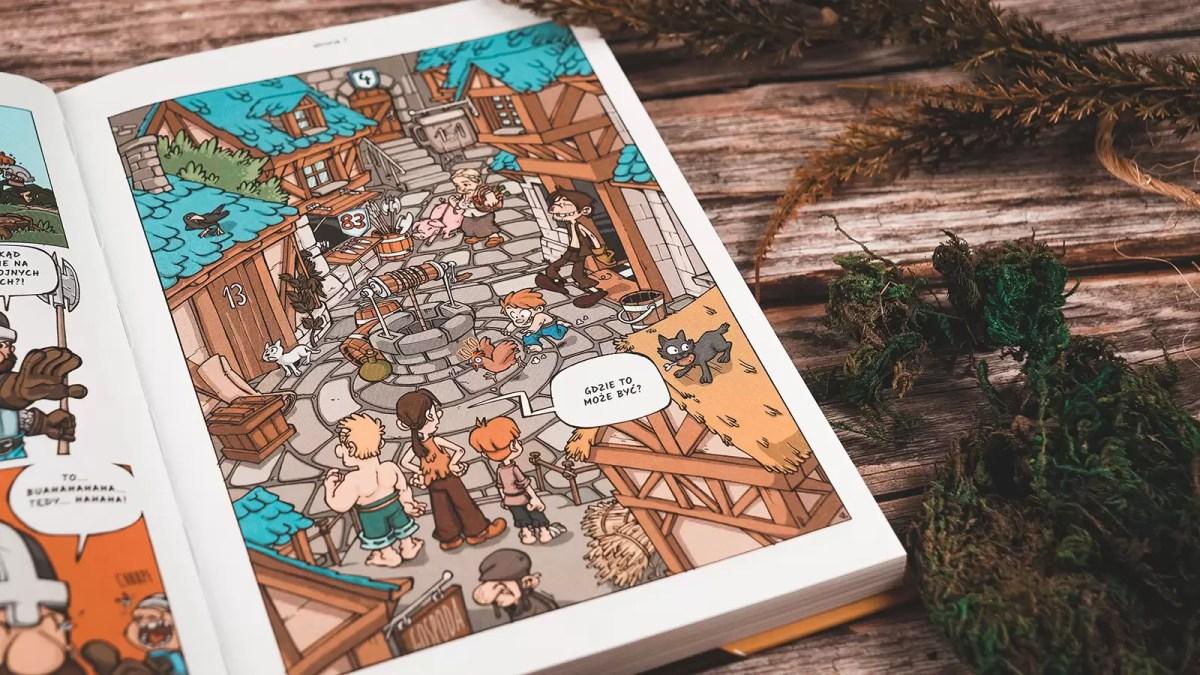 rycerze komiks