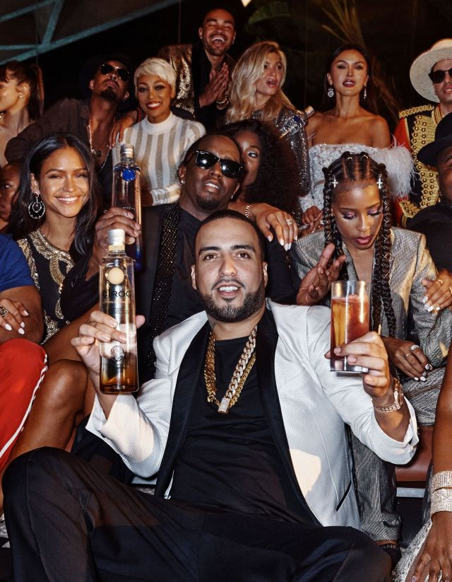 Sean Diddy Combs French Montana And The Makers Of CÎroc Ultra Premium Vodka Deliver A New Indulgent Experience With Launch Vanilla