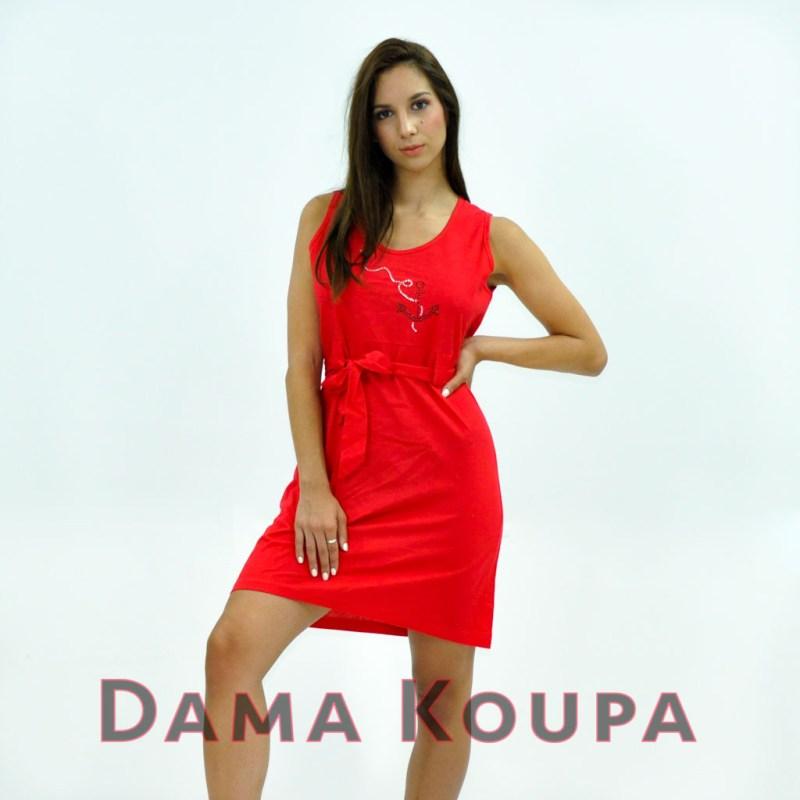 Κόκκινο φόρεμα κοντό