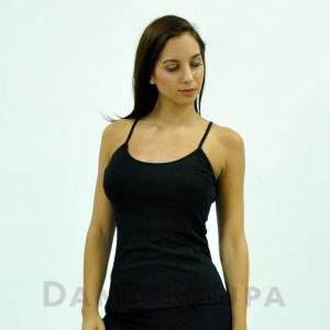 Μαύρη μπλουζα γυναικεία με τιράντες