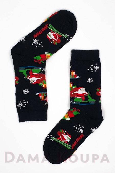Βαμβακερές κάλτσες Χριστουγέννων