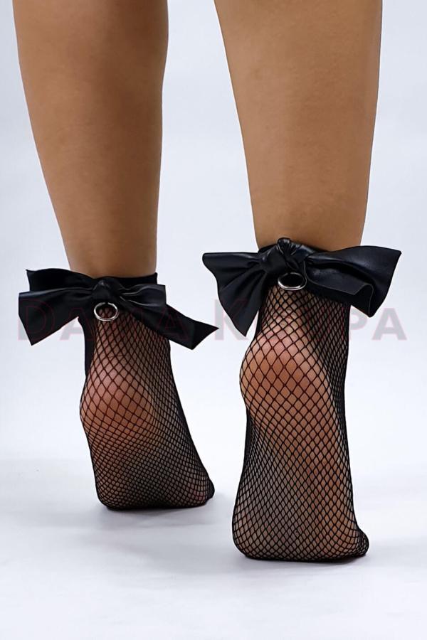 Κάλτσες δίχτυ με σχέδια