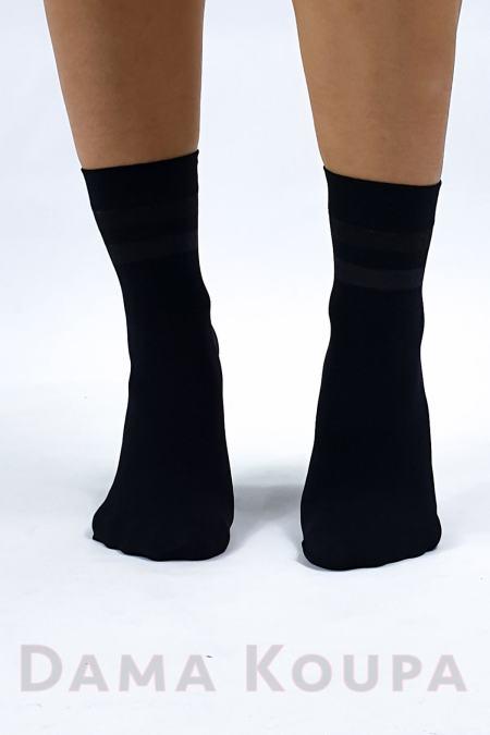 Κοντές κάλτσες με σχέδιο