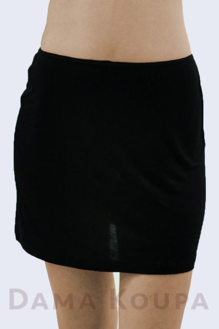Μεσοφόρι φούστα μαύρο
