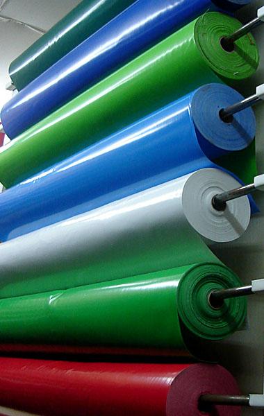 Цветен PVC брезент