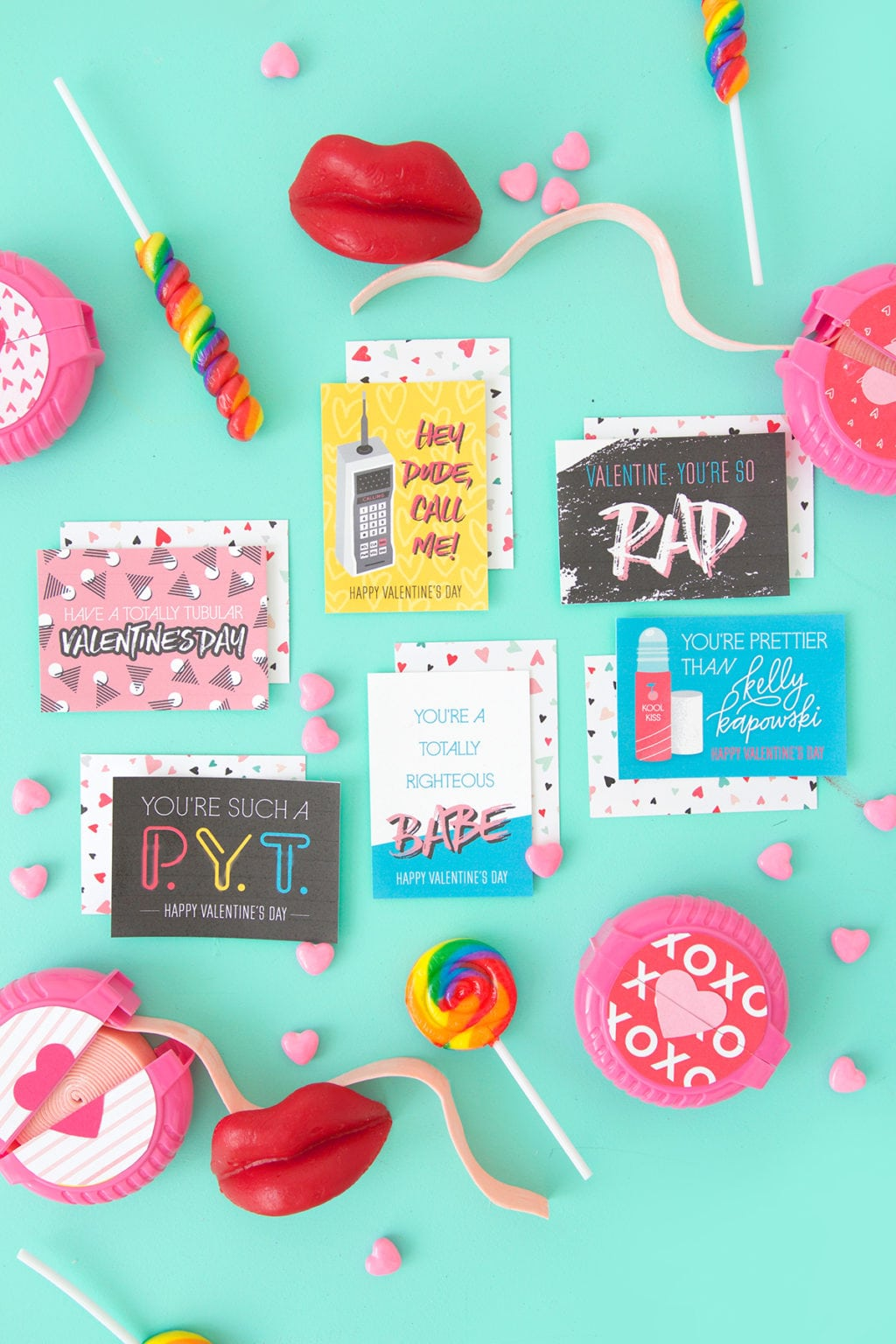 Free Printable 80 S Inspired Valentine S