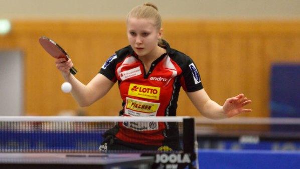 Julia Kaim, SV Böblingen   Damen Tischtennis-Bundesliga