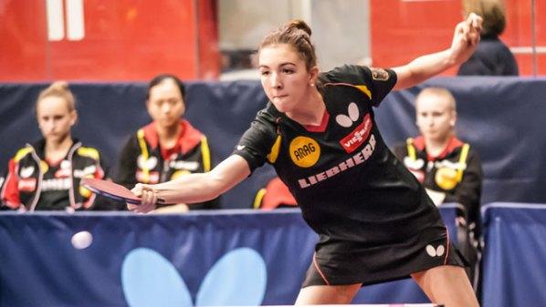 Jugend-EM: Jennie Wolf, Deutschland | Damen Tischtennis-Bundesliga