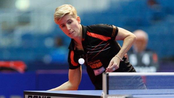 NDM 2016: Kristin Silbereisen   Damen Tischtennis-Bundesliga