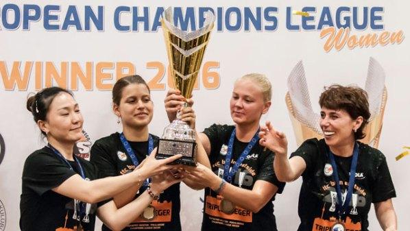 ttc berlin eastside, Champions-League Sieger 2016 | Damen Tischtennis-Bundesliga