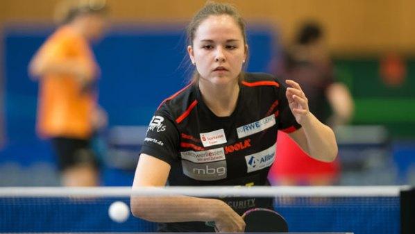 Alena Lemmer, TUSEM Essen | Damen Tischtennis-Bundesliga