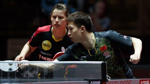 Liebherr Tischtennis-WM 2017: Petrissa Solja, GER unf Fang Bo, CHN im Mixed | Damen Tischtennis-Bundesliga