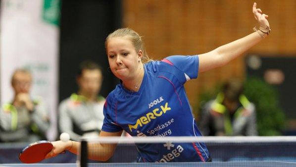 Janina Kämmerer, TSV Langstadt | Damen Tischtennis-Bundesliga © Holger Straede