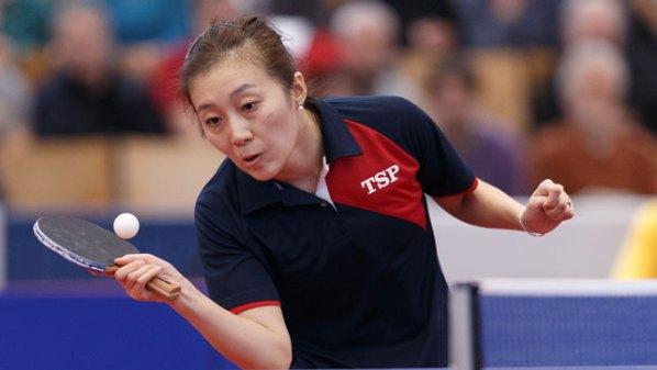 Deutsche Meisterin im Damen Einzel 2018 - Han Ying | Damen Tischtennis-Bundesliga © Holger Straede