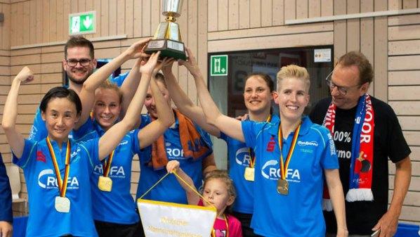 Deutscher Meister 2018: SV DJK Kolbermoor | Damen Tischtennis-Bundesliga © Erik Thomas