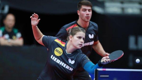 Petrissa Solja und Patrick Franziska, Deutschland | Damen Tischtennis-Bundesliga