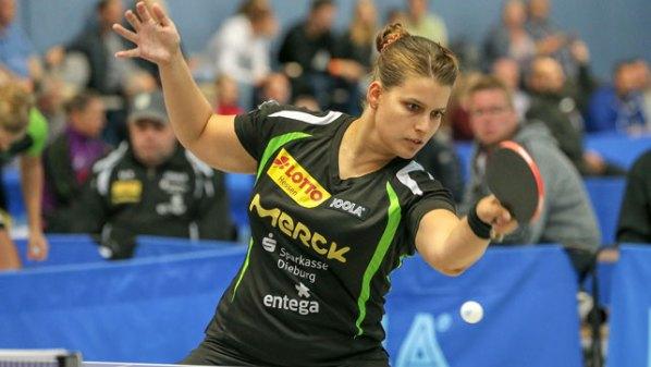 Petrissa Solja, TSV Langstadt   Damen Tischtennis-Bundesliga © Foto-kiko.de   Joaquim Ferreira