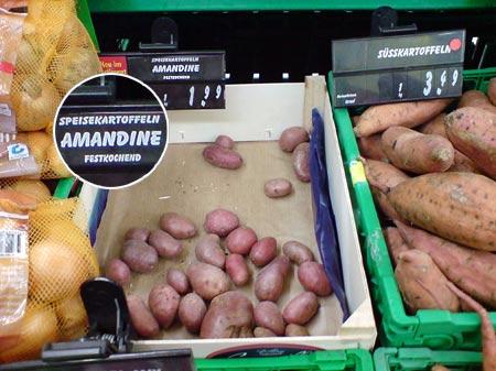 Kartoffel Amandine