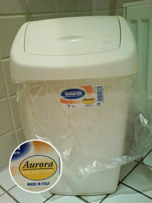 Mülleimer Aurora