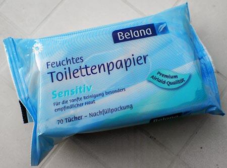 Toilettenpapier Belana