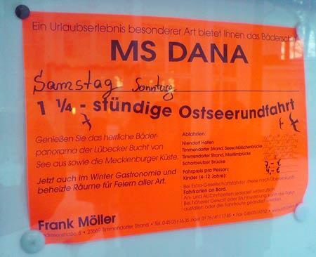 Motorschiff MS Dana