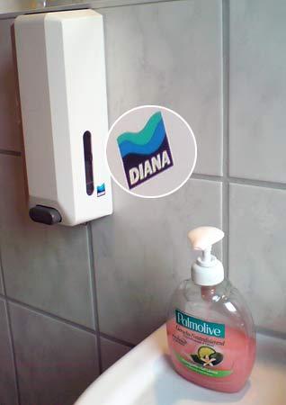 Seifenspender  Diana