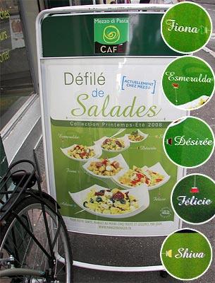 Franz. Salatbar