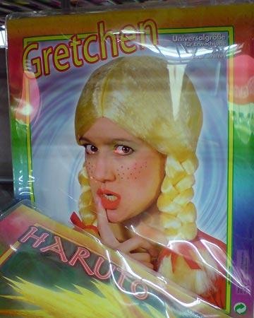 Perücke Gretchen